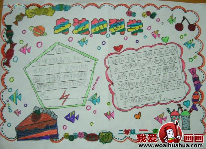 小学生a4手抄报版面设计图片组图:科学幻想