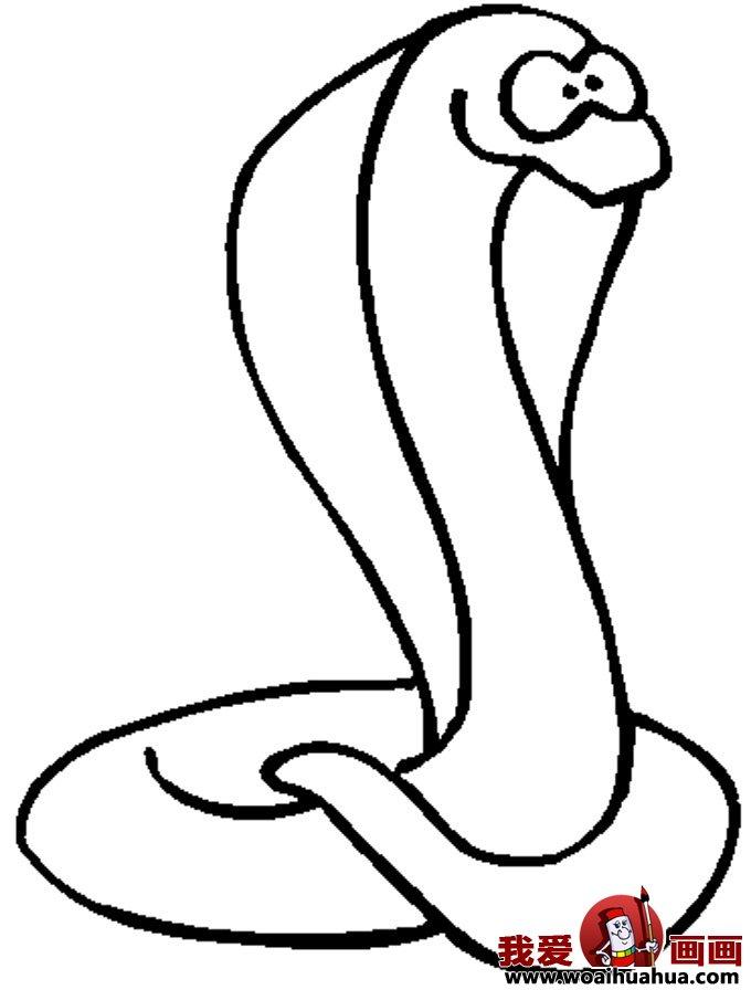 简笔画蛇-11张蛇的简笔画图片(10)