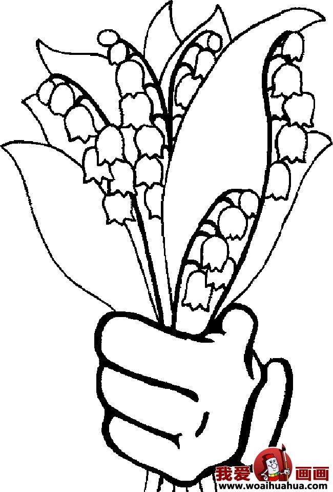 九种简笔画花卉植物图片欣赏(2)_儿童画教程_学画画