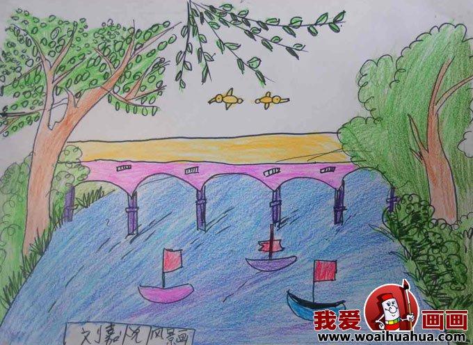 儿童画春天的图片:关于春天的儿童画作品大全(9)