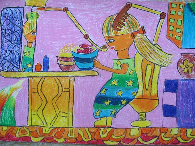 学画画 儿童画教程 科幻画  幼儿科幻画获奖优秀作品图片欣赏(5) 第5