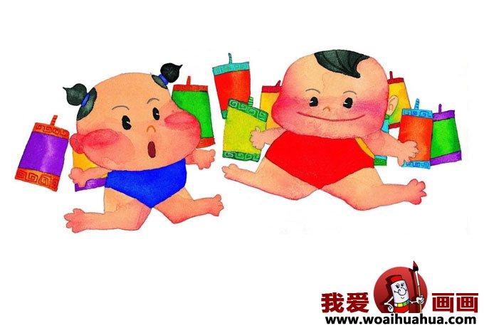 小朋友过年图片,儿童过春节图片3