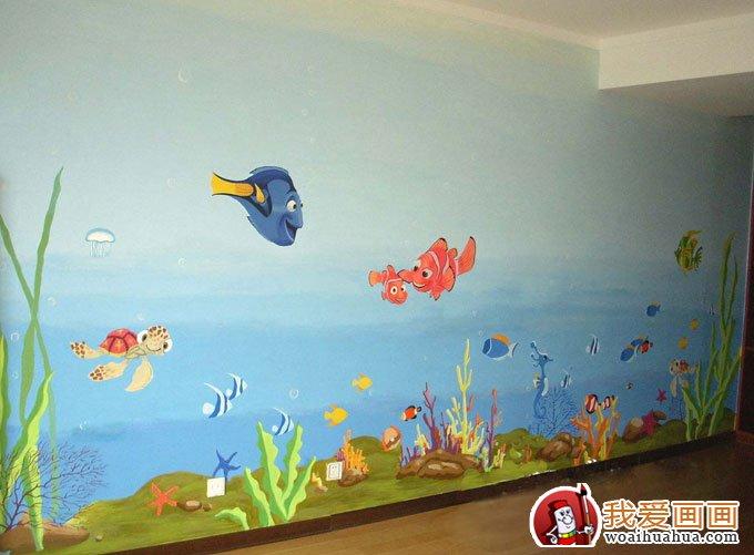幼儿园装饰画,幼儿园壁画装饰设计图(4)