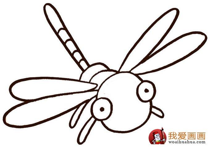幼儿简笔画图片大全:卡通小动物超可爱(5)