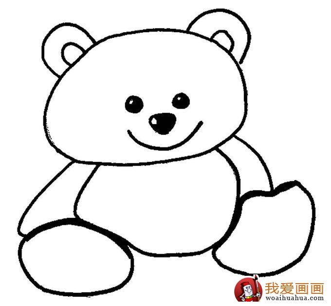 幼儿简笔画图片大全:卡通小动物超可爱(7)