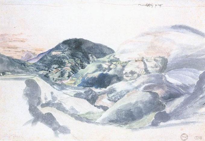 阿尔布雷特丢勒作品集:风景水彩画珍藏版_图片_我爱网