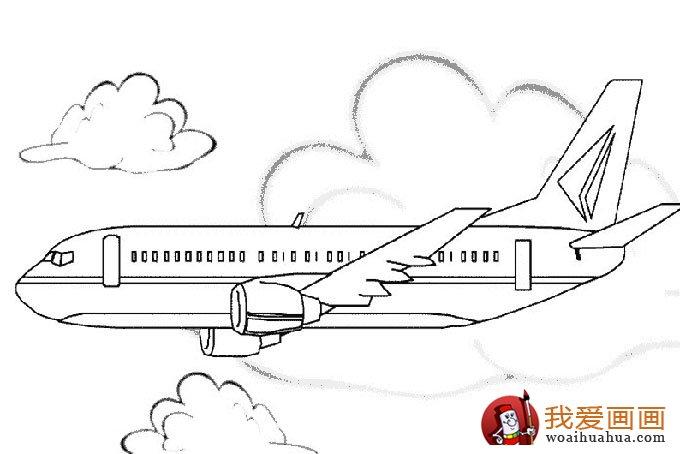 飞机简笔画,各种各样的简笔画飞机图片(11副)(5)-各种各样的桥图片