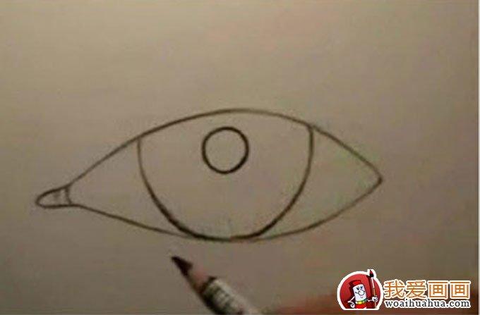 6个步骤教你用铅笔画眼睛手绘素描教程