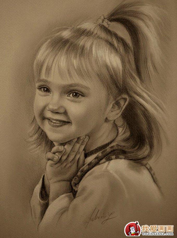 人物铅笔画图片:逼真完美好莱坞明星铅笔素描(下)(10)