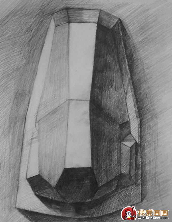 石膏像鼻子的素描画图片:各种鼻子素描(3)