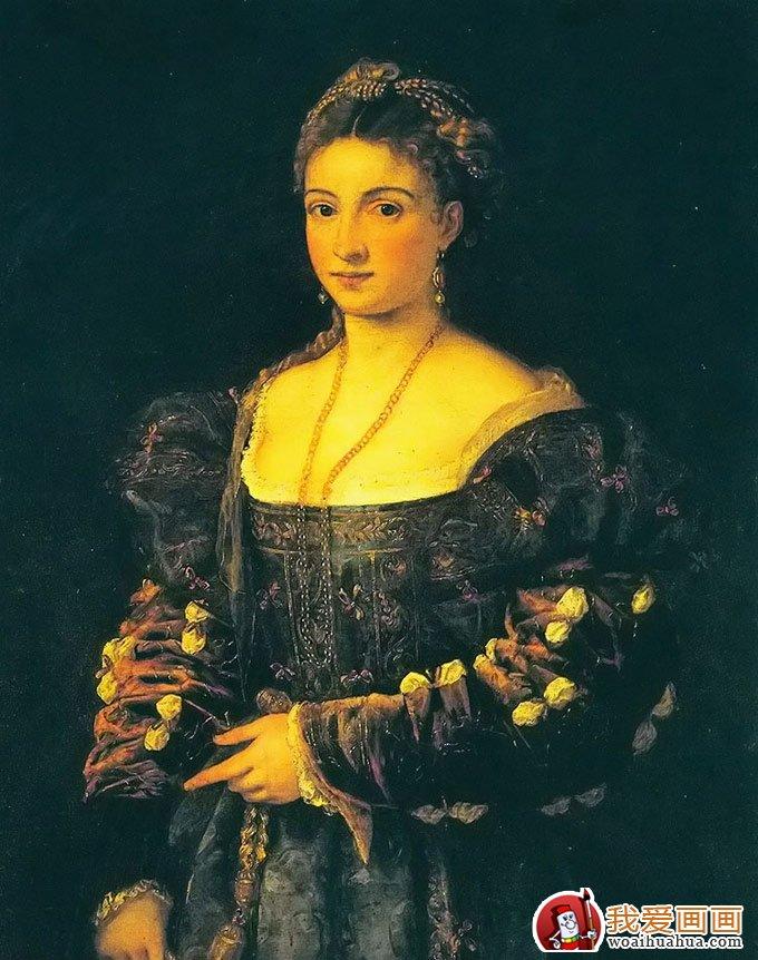 提香韦切利奥_西方油画之父,威尼斯画派的代表画家(3)