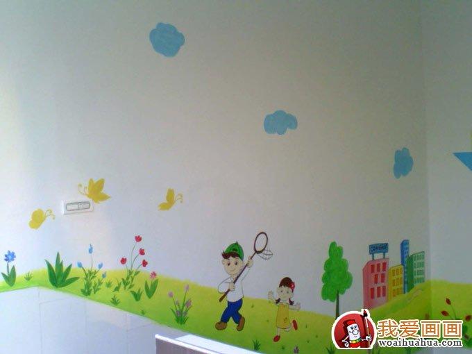 幼儿园布置中的墙饰手绘画画图案素材10副(4)