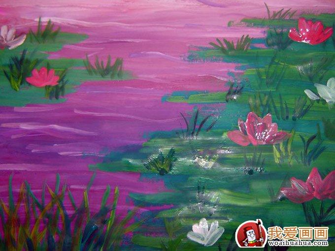 少年儿童水粉画:儿童风景水粉画欣赏(5p)(2)