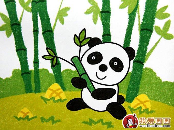 5副熊猫儿童卡通画欣赏