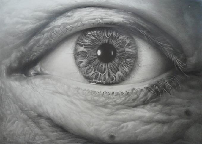 中央美院超写实精微素描展a辑_图片_我爱画画网_一个