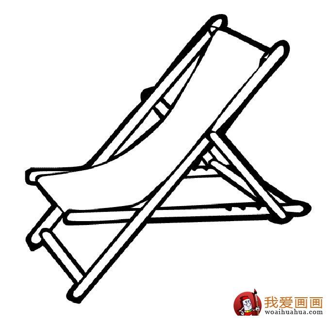 椅子简笔画,儿童简笔画椅子图片大全(6)