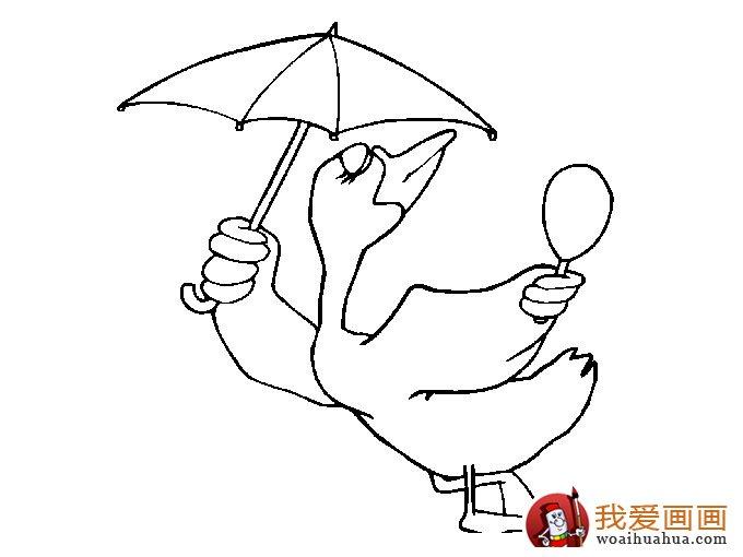 小鸭子简笔画图片:各种简笔画鸭子画法