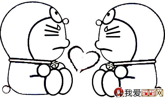 哆啦a梦之机器猫简笔画图片大全 2