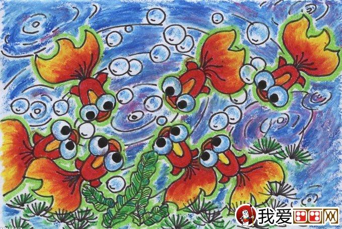 幼儿油画棒绘画作品:动物油画棒儿童画大全(4)