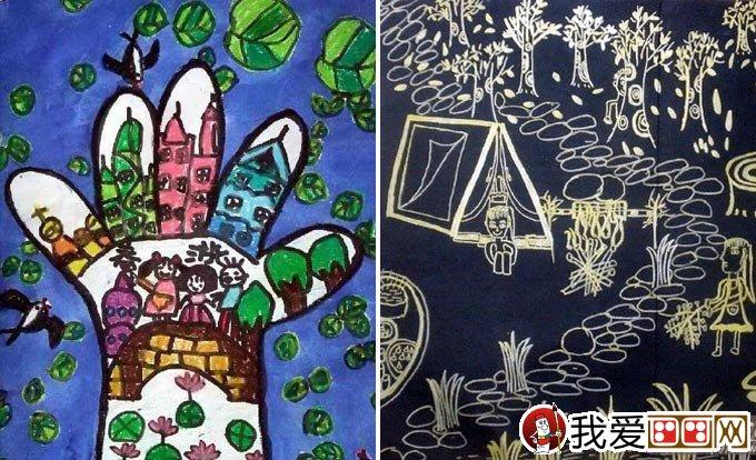 儿童画春游 关于春天春游的儿童画图片大全(7)