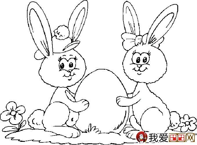 兔子简笔画图片,卡通兔子简笔画,最可爱的兔子简笔画,兔子的简单画法
