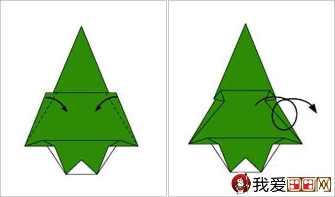 手工制作圣诞树折纸教程:快速制作一棵漂亮的圣诞树