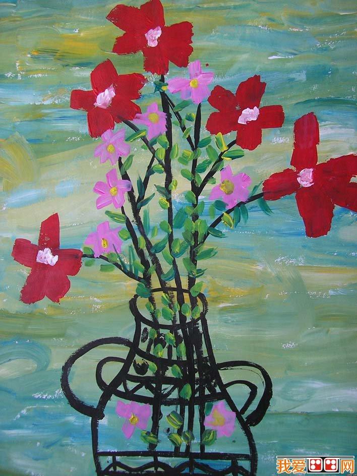 静物 水粉画和 风景水粉画,无论是构图还是用色都非常优秀,包括了两幅