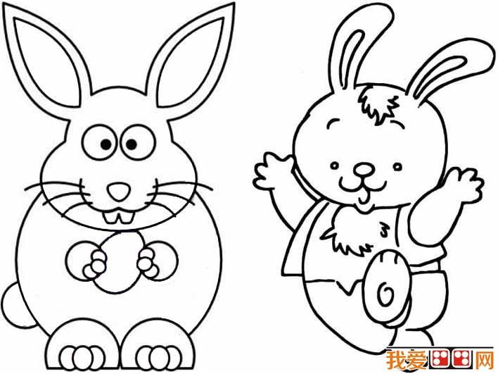 学画画 儿童画教程 简笔画     我爱 画画网兔子 简笔画图片大全,为您