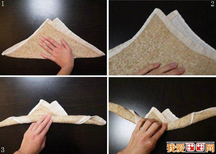 兔子手工制作教程:快速diy超萌的毛巾布小兔