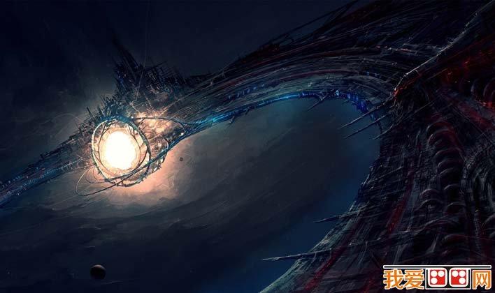 未来城市科幻画,科学幻想未来城市科幻图片高清大图(3