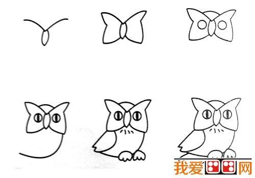 动物简笔画:各种小动物简笔画教程大全(3)