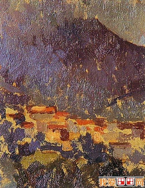 油画写生:油画风景绘画步骤