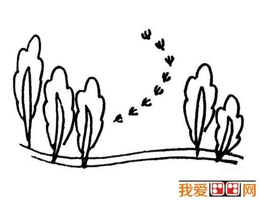 儿童画简笔画小树
