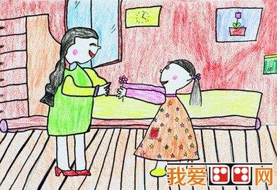 小学生画画:母亲节画画图片大全