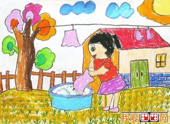 感恩节儿童画作品欣赏