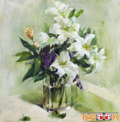 默画花卉的画法及技巧