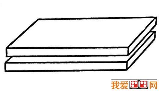 儿童画简笔画 书的画法