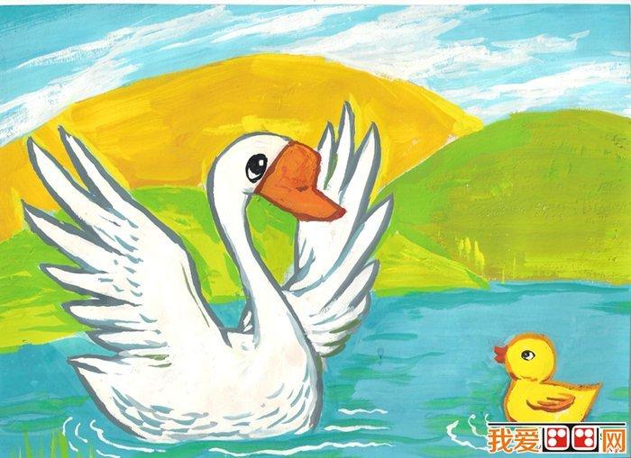 儿童水彩画:动物儿童水彩画作品欣赏(3)