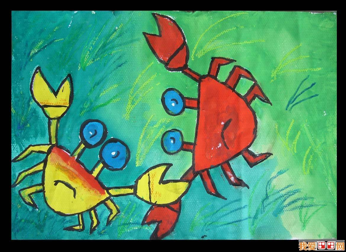 儿童水彩画:动物儿童水彩画作品欣赏(4)