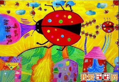 科幻画作品:先进的未来科技作品(4)_儿童画教程_学_我