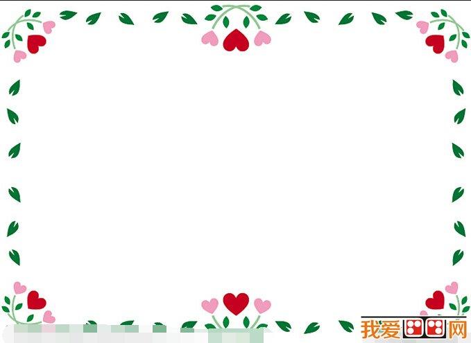 黑板报:黑板报花边素材欣赏(6)_儿童画教程_学画画_我