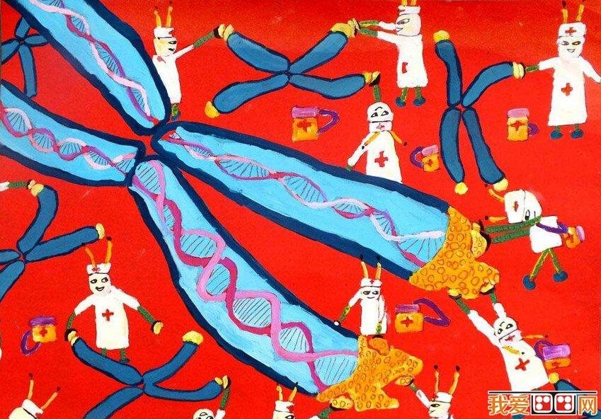 儿童水粉画:想象丰富的儿童水粉画作品欣赏(6)