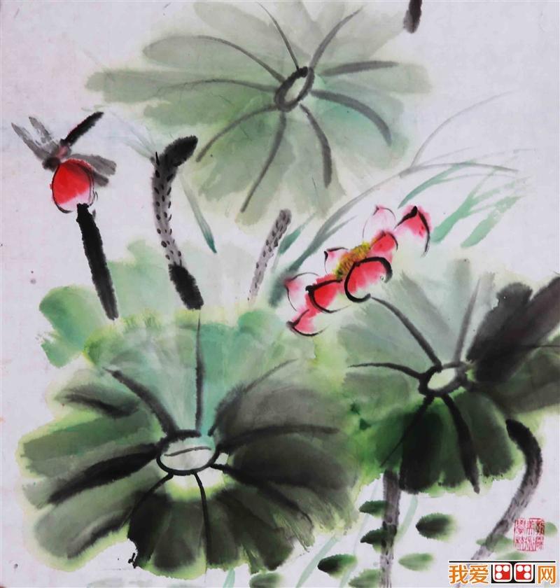 儿童画:儿童优秀水墨画作品欣赏(3)