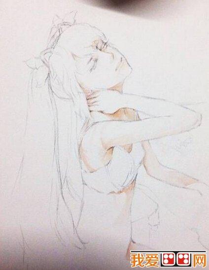 水彩画教程:少女人物水彩画教程详解(2)