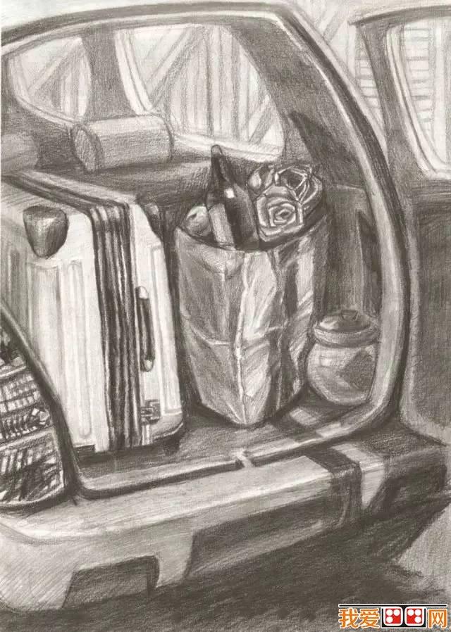 清华美院优秀设计素描作品欣赏(3)_素描教程_学画画