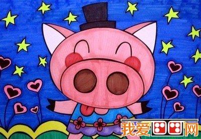 教育 幼儿学画画     王老师说,如果留心观察就会发现,许多儿童画常常