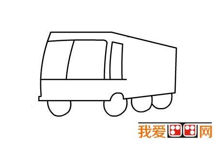 消防车简笔画教程图解教程(三)