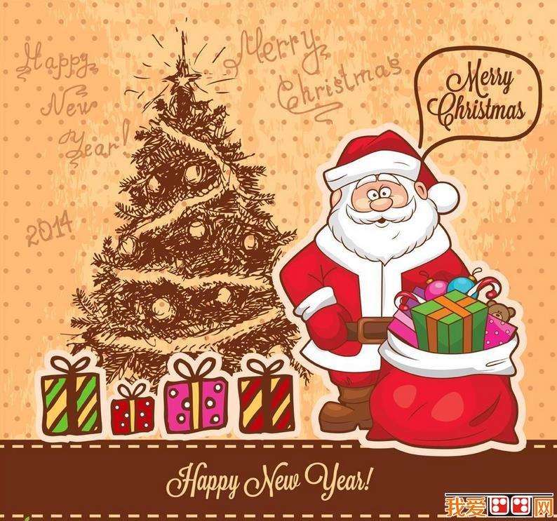 圣诞节主题可爱卡通画图片(6)