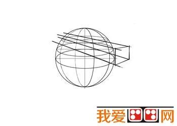 球体透视结构图