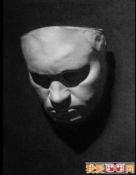 石膏像素描写生与人物肖像素描写生从观察方法到表现步骤没有什么